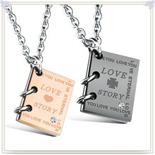 Fashion Pendant Stainless Steel Jewelry Fashion Necklace (NK725)