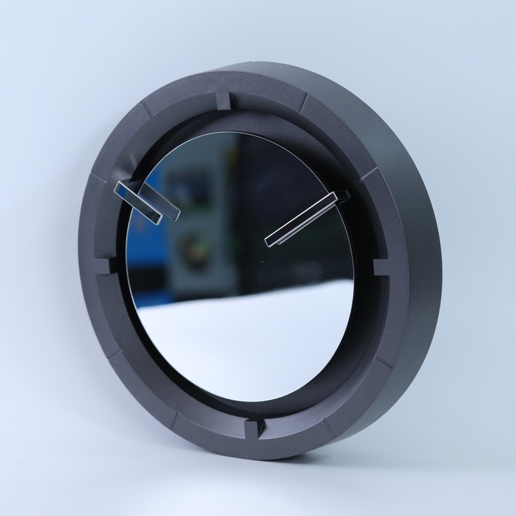 Mirror Clock Wall