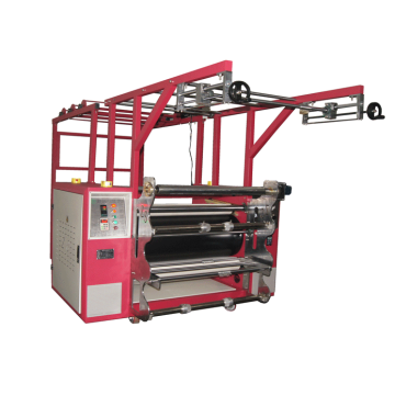 Roller sublimation machine for zipper