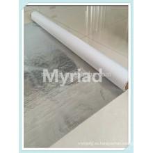 Película metalizada del poliester / mylar reflexivo, material reflectante y de plata del material de cubierta