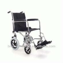 Faltbarer Transport Chrom Rollstuhl