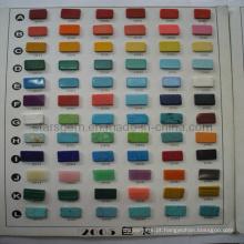 Gráfico de cor de turquesa