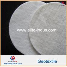 Geotêxtil não tecido do poliéster da agulha 300G / M2 para a descarga Waste