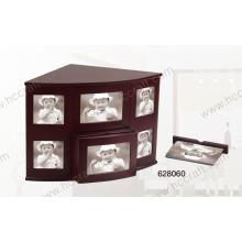 Nueva caja de madera del álbum de foto para el regalo