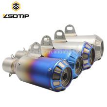 Großhandel Universal Motorrad Schalldämpfer Flexible Abgasanlage Schalldämpfer Rohr Auspuff