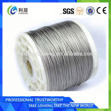 1 * 19 Cuerda de alambre de acero inoxidable 12mm
