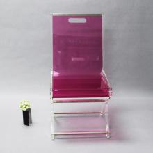 Оптовый дешевый пластиковый акриловый стул для одного человека