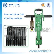 Xiamen Bestlink Luftkompressor Mini Bohrmaschine für den Steinbruch