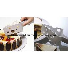 Molde de injeção de faca de bolo de plástico