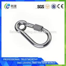 Cinturones de seguridad de resorte de acero inoxidable Snap Hook