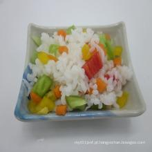 Açúcar dieta livre Konjac arroz com ricos fibra dietética