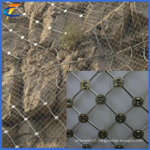 Slope Protection Spider Spiral Rope Net (CT-11)