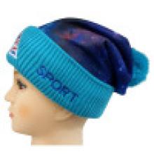 Chapeau d'hiver avec impression sublimation NTD1647