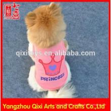 El perro superventas de la chihuahua de la fábrica de China viste el perro encantador de la ropa del animal doméstico