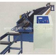 Machine de formage de porte à volet roulant en acier