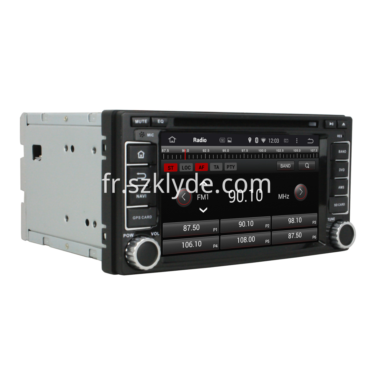 Subaru Forester/Impreza android car DVD player