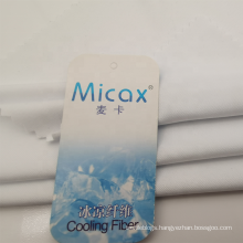Cool touch tech dry Micax cooling polyester knit fabric for sportswear
