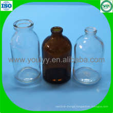 100ml Clear and Amber Moulded Vial