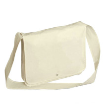 custom high quality organic eco cotton canvas messenger bag