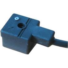 Conectores DIN43650A - DIN43650A con conductores de vuelo con LED