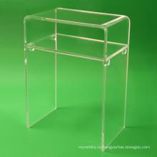 Crystal Lucite Мебель Акриловый стол для дома