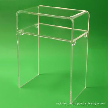 Crystal Lucite Möbel Acryl Schreibtisch für zu Hause