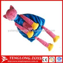 Día de los niños regalo de felpa suave felpa juguete bolsa grande
