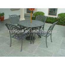 Gartenmöbel 7pc Set Outdoor Tisch Freizeit Stuhl