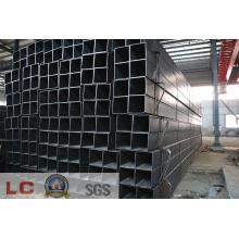 Tuyau d'acier carré noir 150mmx150mm