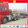 Tri-Axle Stainless Steel Fuel Oil Petrol Tank Semi Trailer Tanker