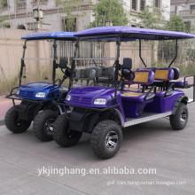 popular gasoline golf cart with Cadillac logo and 250cc engine