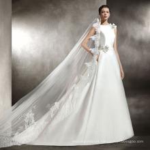 High Quaity Satin Wedding Gown