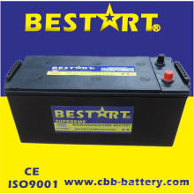Alta qualidade grande tamanho da bateria do caminhão 150ah 12V N150-Mf