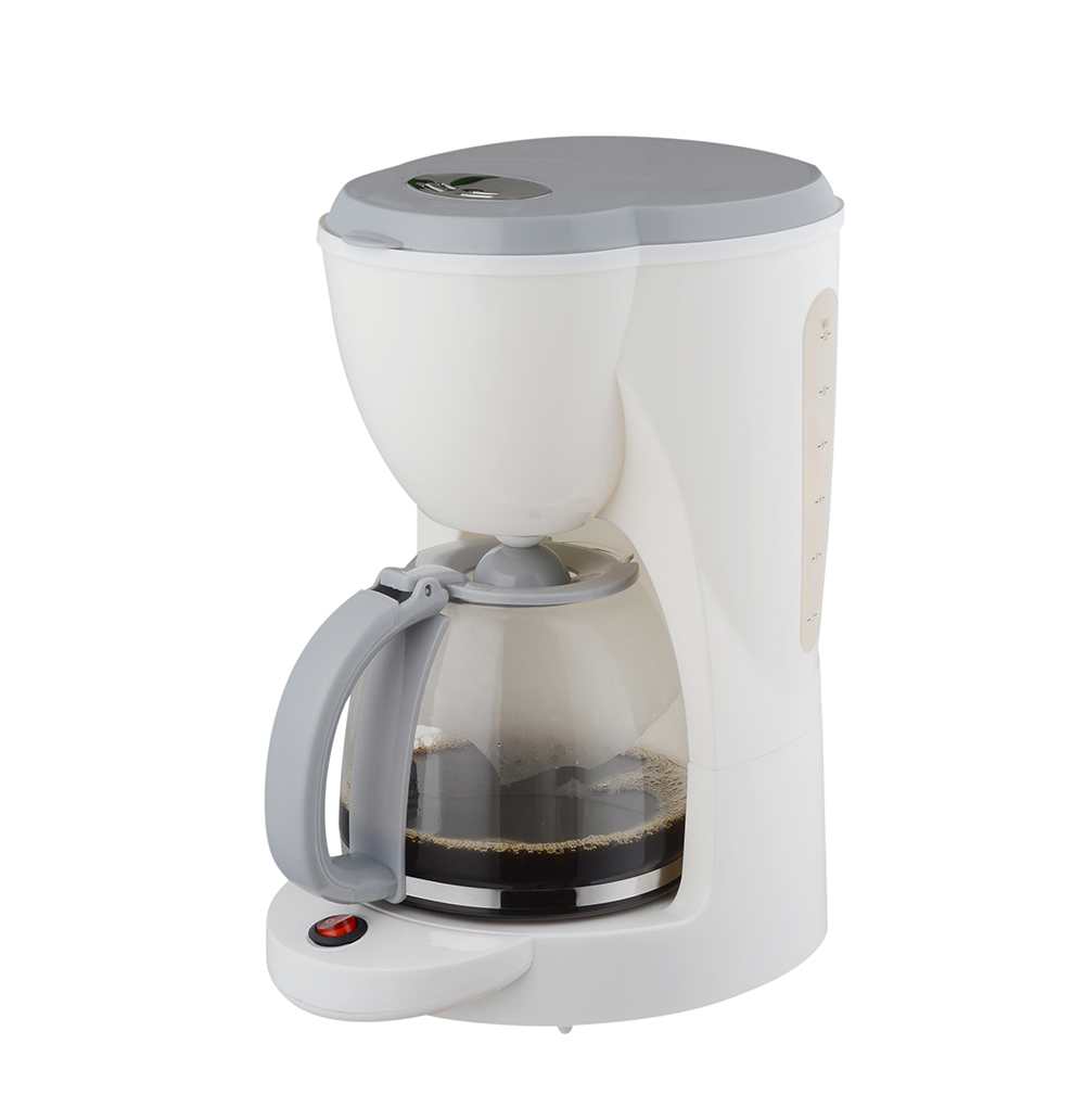 white coffee maker