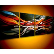 Abstrakte Gruppe Einfache Leinwand Malerei Designs