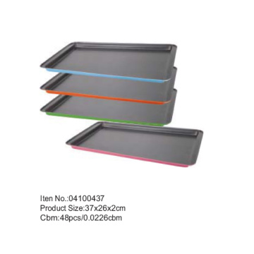 37*26 cm colorful coating sheet pan