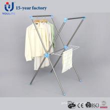 Cintre de séchage des vêtements inox X-Type