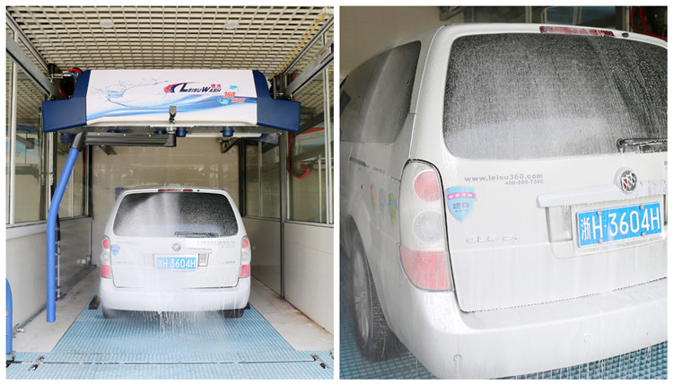 leisuwash 360 mini touchless car wash