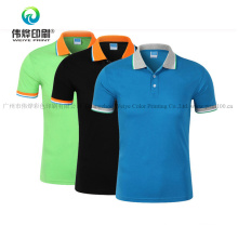 100% Cotton Promotional Printing Polo T-Shirt