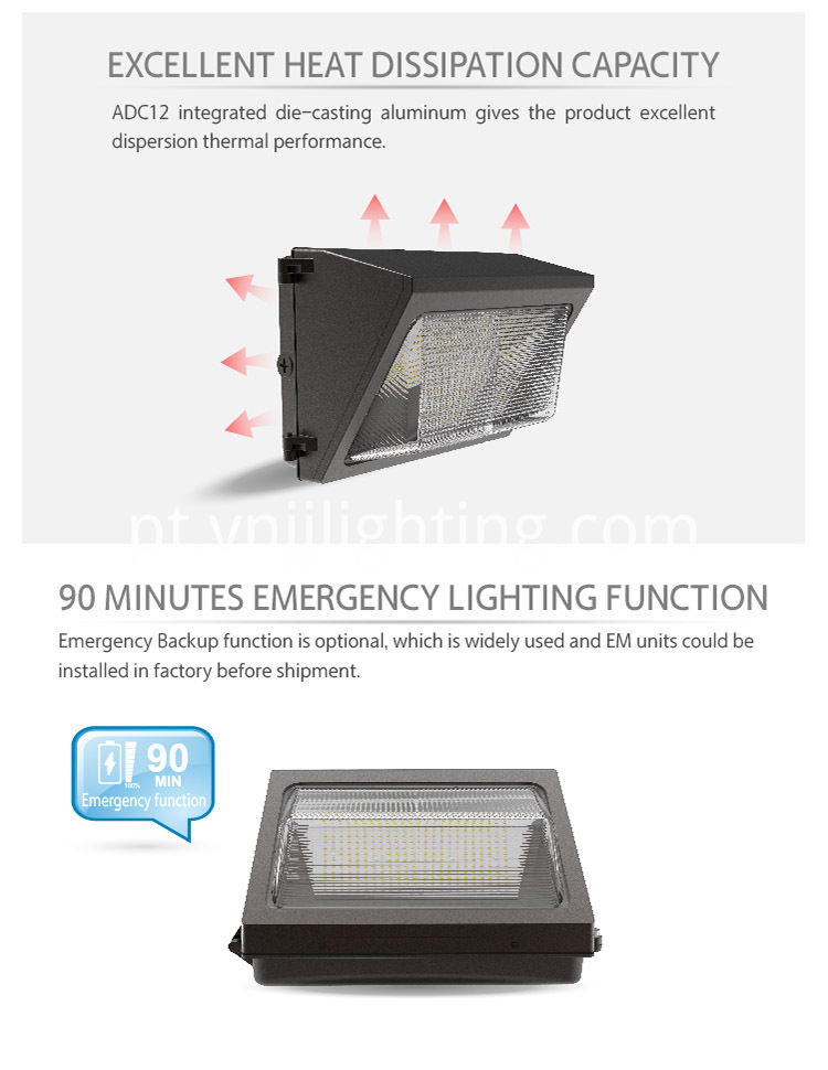 LED Wall Pack A - 02