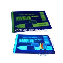 Compatible feature id card printer ribbon p330i blue uv ribbon