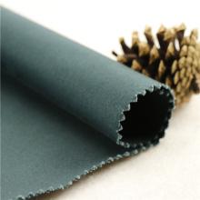 21x20 + 70D / 137x62 241gsm 157cm verde preto esticar algodão 3 / 1S tecido de tecido 100% algodão s para terno de mergulho