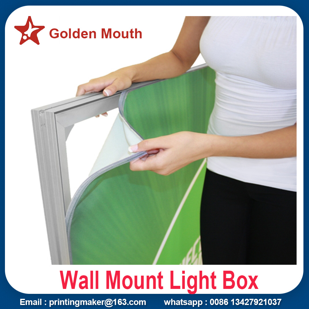led light box with graphic