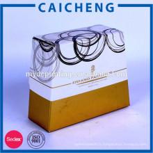 Boîte de parfum vide en carton cosmétique emballage ondulé