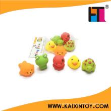 Novelty Vinyl Animal Toy for Baby Bath Toy Soft Toy