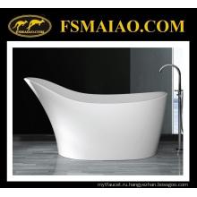 Уникальный дизайн специальная форма твердая поверхностная freestanding Ванна (БС-8605)