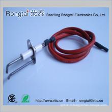 Electrode d'allumage pour barbecue à gaz