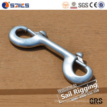 Rigging Hardware Stainless Steel Double End Dog Clip