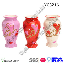Керамическая ваза для украшения венчания