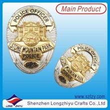 Dual Plating Military Lapel Pin Army Badge (LZY-20130904)